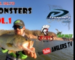 Anglers Tv Lake El Salto, BASS MONSTERS, Vol.1